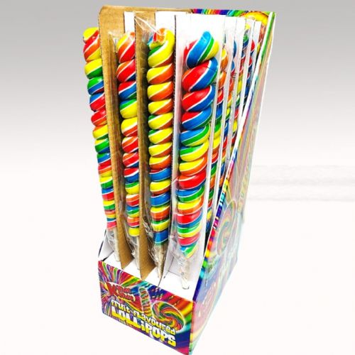 TWISTER LOLLY MIXED FRUIT FLAVOUR x24